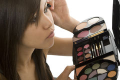 Teenager make up Stock Photo