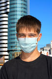Teenager in mask Stock Photography