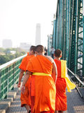 Teenager monks Stock Photography