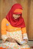 Teenager Muslim  Girl Royalty Free Stock Photos