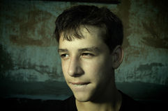 Teenager nell'umore difettoso Immagini Stock Libere da Diritti