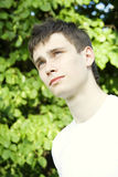 Teenager in Park Stock Photography