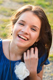 Teenager with pimples Royalty Free Stock Image