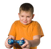 Teenager playing Royalty Free Stock Photos