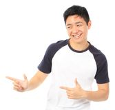 Teenager Pointing Stock Photos