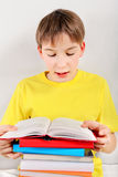 Teenager read a Book Royalty Free Stock Photo