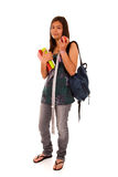 Teenager ready to go back to school Stock Photos