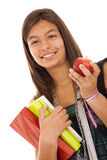 Teenager ready to go back to school Stock Image