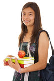 Teenager ready to go back to school Royalty Free Stock Photography