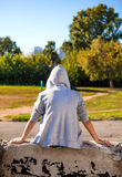 Teenager Rear View Stock Photography