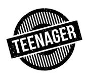 Teenager rubber stamp. Grunge design with dust scratches. Effects can be easily removed for a clean, crisp look. Color is easily changed Royalty Free Stock Photography