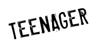 Teenager rubber stamp. Grunge design with dust scratches. Effects can be easily removed for a clean, crisp look. Color is easily changed Royalty Free Stock Image