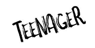 Teenager rubber stamp. Grunge design with dust scratches. Effects can be easily removed for a clean, crisp look. Color is easily changed Royalty Free Stock Photo