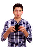 Teenager's wallet Royalty Free Stock Images