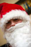 Teenager Santa Claus Stock Image