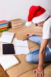 Student Doing Homework Stock Image