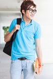Teenager at school Royalty Free Stock Photo