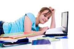 Teenager schoolgirl Royalty Free Stock Photography