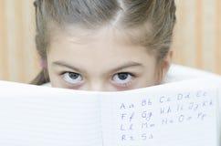 A Teenager Schoolgirl Stock Image