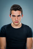 Teenager with Serious Expression Royalty Free Stock Images