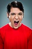 Teenager Shouting Stock Photo