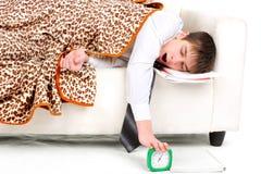Teenager sleeping Stock Photos