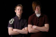 Teenager-Stellung Lizenzfreies Stockbild