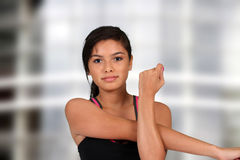 Teenager Stretching Royalty Free Stock Image