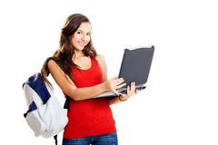 Teenager student Royalty Free Stock Image