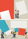 Teenager students Royalty Free Stock Images