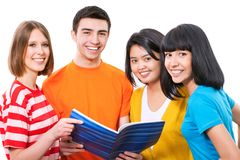 Teenager students Royalty Free Stock Photography
