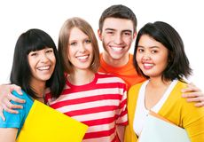 Teenager students Stock Photography