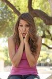 Teenager Surprised Stock Photos