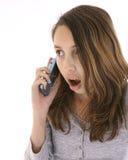 Teenager talking Stock Photo