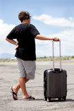 Teenager Traveling Royalty Free Stock Photo