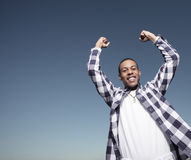 Teenager Victory Stock Photos