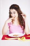 Teenager woman Studio Stock Photography