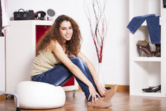 Teenager woman Studio Stock Photography