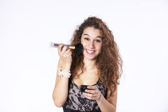 Teenager woman Studio Royalty Free Stock Images