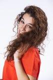 Teenager woman Studio Royalty Free Stock Photos