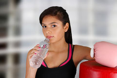 Teenager Workout Royalty Free Stock Photography