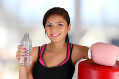 Teenager Workout Royalty Free Stock Image
