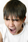 Teenager Yawning Royalty Free Stock Image