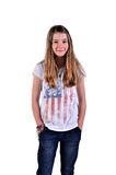 Teenager young girl Stock Image