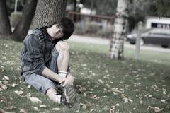 Teenagerprobleme Lizenzfreie Stockbilder