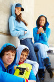 Teenagers Royalty Free Stock Photo