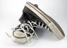 Teenagers boots Royalty Free Stock Images