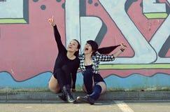 Teenagers girls Stock Photography