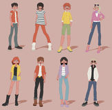 Teenagers. Royalty Free Stock Photo