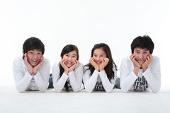 Teenagers II. Asian Ethnicity Stock Image